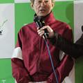 写真: 藤野 俊一 騎手(18/03/04・第49回 イレネー記念)