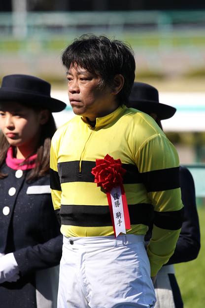 林 満明 騎手(18/03/10・第20回 阪神スプリングジャンプ)