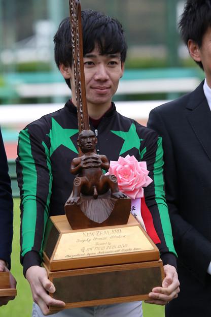 松山 弘平 騎手(18/04/07・第36回 ニュージーランドトロフィー)