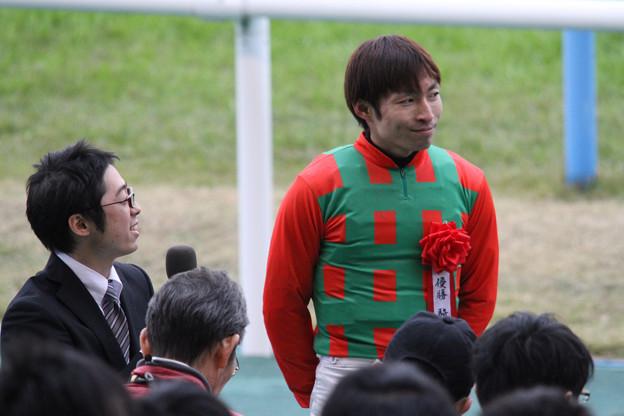 大野 拓弥 騎手(11/12/10・第47回 中日新聞杯)