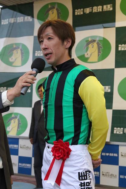 村上 忍 騎手(18/06/10・第38回 岩手ダービー ダイヤモンドカップ)