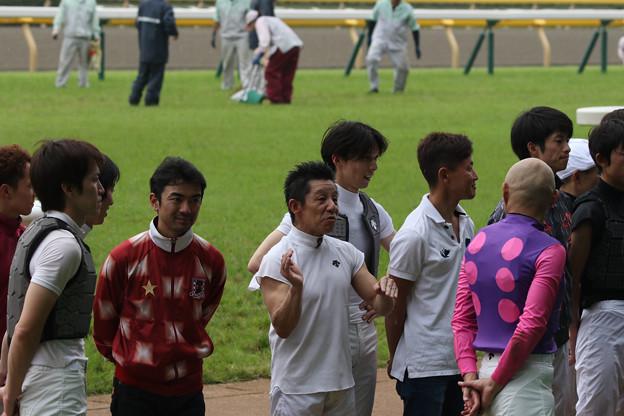 林 満明 騎手 引退セレモニー_1(18/06/23・第20回 東京ジャンプステークス)