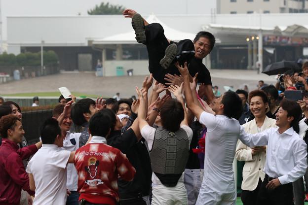 林 満明 騎手 引退セレモニー_8(18/06/23・第20回 東京ジャンプステークス)