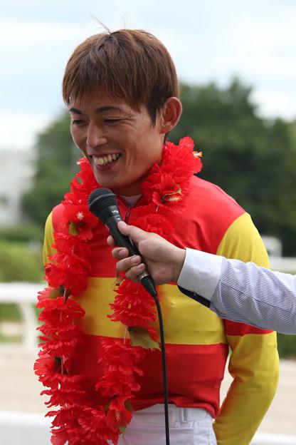 大畑 雅章 騎手(18/08/16・中日新聞杯 第47回 くろゆり賞)