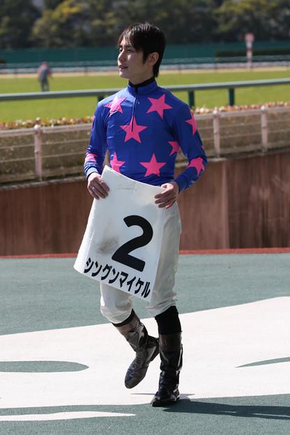 金子 光希 騎手(18/03/11・4R)