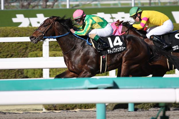 サトノファンタシー レース(18/03/10・11R)