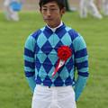 Photos: 平沢 健治 騎手(19/08/24・第21回 新潟ジャンプステークス)