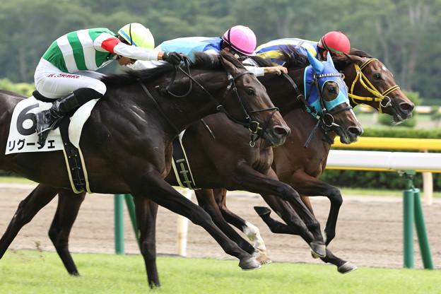 リグージェ レース(19/08/25・新馬戦)
