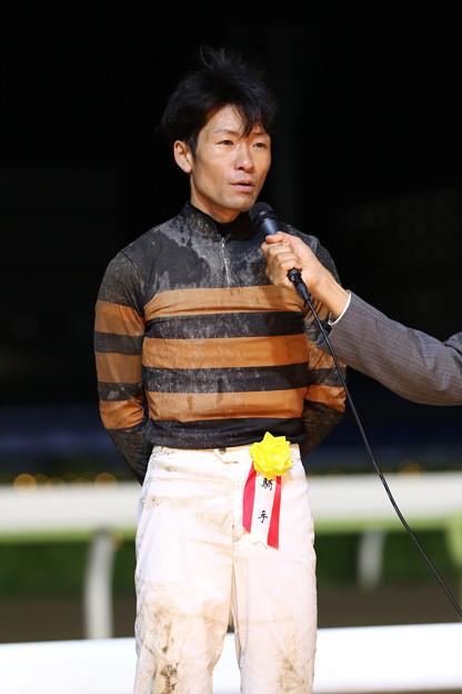 森 泰斗 騎手(19/08/28・スポニチ盃 第26回 アフター5スター賞)