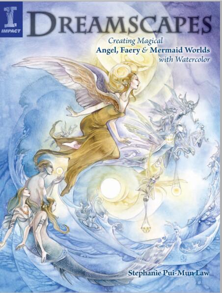 【水彩绘画教程】天使-仙子水彩画法