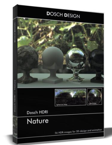 HDRI自然环境素材(DOSCH HDRI Nature)