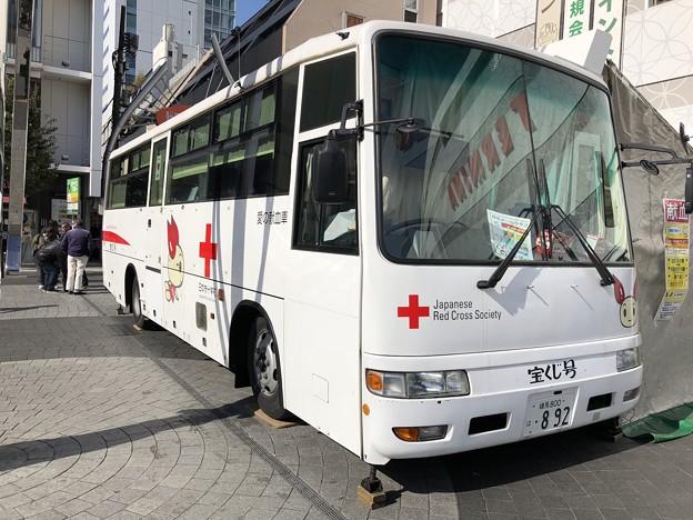 けんけつちゃん 献血バス 錦糸町駅