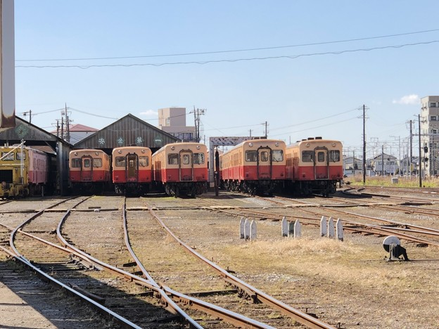 五井機関区 小湊鉄道