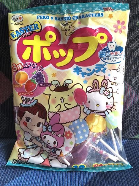 PEKO X SANRIO CHARACTERS イースターポップキャンディ