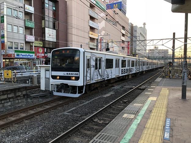 209系 マリJ1編成 B.B.BASE 津田沼駅