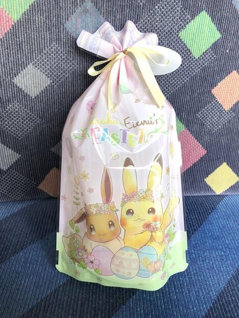 ポケモンセンターオリジナル プリントクッキーPikachu&Eivui's Easter
