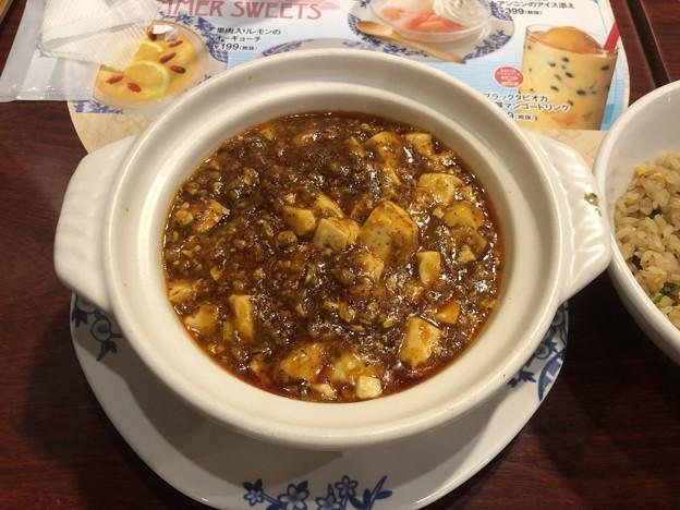山椒とラー油のピリッとシビから赤麻婆豆腐