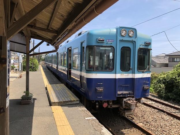 銚子電鉄 3000形 外川駅