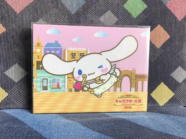 サンリオキャラクター大賞2018 ミニパネルアート シナモロール