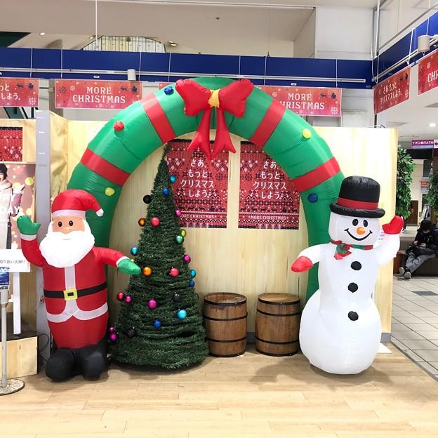 写真: クリスマスツリー イオン幕張店