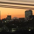 富士山と幕張新都心