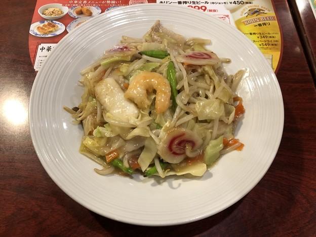 Photos: もっちり柔らか太麺皿うどん