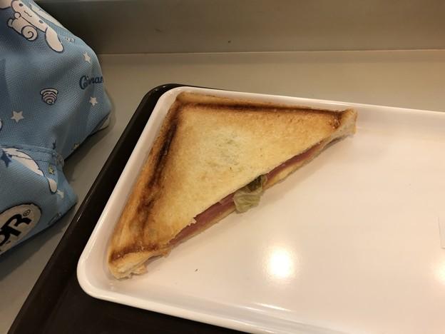 Photos: トーストサンド(ハムチーズ)