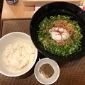 Photos: 広島 旨辛汁なし担担麺&ご飯セット
