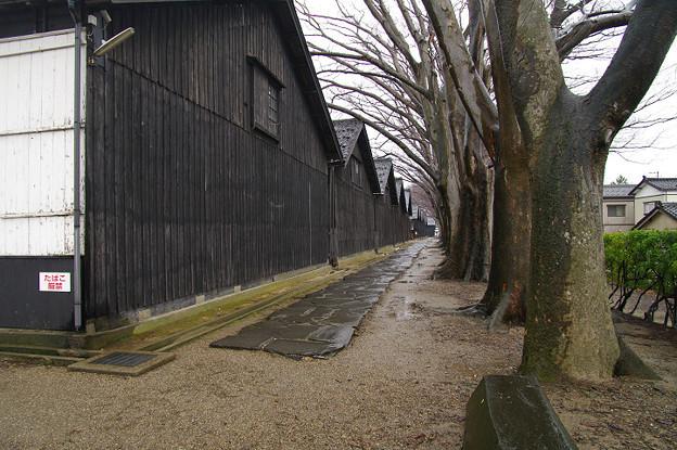 Photos: s2490_山居倉庫_西端_酒田市