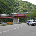 Photos: s1099_武田尾駅を通過する特急こうのとり