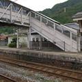 Photos: s1512_八鹿駅跨線橋の装飾