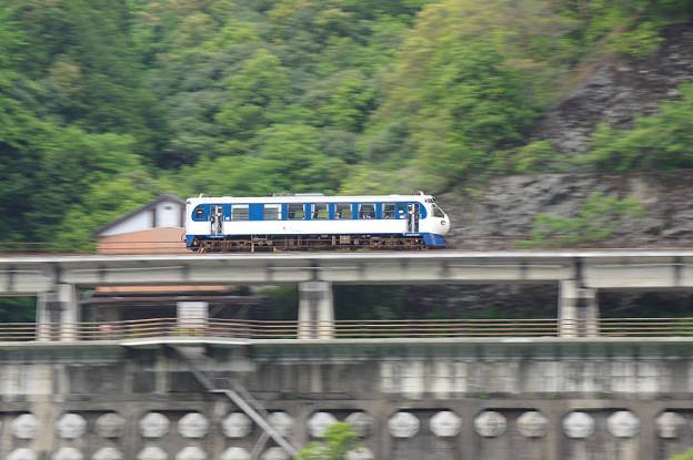 s6219_予土線4822D窪川行_キハ323_十川~土佐昭和_ホビートレイン新幹線0系型