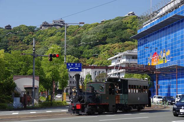 s6910_坊ちゃん列車14号機関車_市役所前