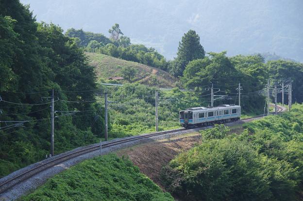 s1457_篠ノ井線2242M_E127系A7編成_姨捨公園