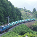 s1485_篠ノ井線上り貨物列車_EH200-15+タキ_姨捨公園