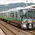 Photos: s7198_泊駅2番ホームで同一線路上に2列車が停車