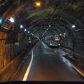 Photos: s7957_関電トロリーバス前面車窓_単線交換
