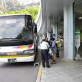 Photos: s8014_アルピコ交通信濃大町駅行バス_扇沢
