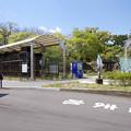 Photos: s4951_C57119と321号電車静態展示_和歌山市岡公園