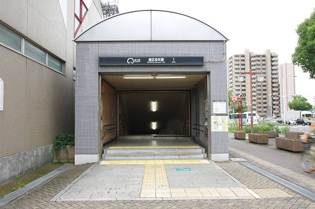 s4343_港区役所駅1番地下入口_愛知県名古屋市港区_名古屋市交