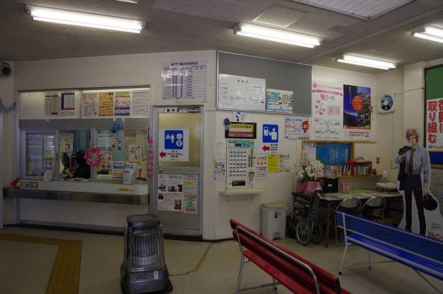 Photos: s2874_三陸鉄道釜石駅待合室