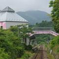 Photos: s2904_三陸鉄道車窓_吉浜駅北側