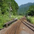 Photos: s2325_関西本線前面車窓_柘植~加太_中在家信号場