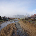 s7320_垂井町御幸橋から見た西側伊吹山方向