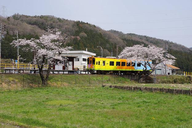 s3172_樽見鉄道19列車_ハイモ330-702_織部~木知原
