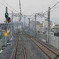 s2915_おおさか東線前面車窓_JR淡路~南吹田間神通川信号場