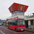 Photos: s7045_池田港ターミナルと神浦西行バス