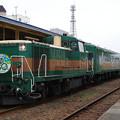 Photos: s4002_釧網本線9332列車くしろ湿原ノロッコ号_DE101661他_釧路