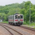 Photos: s4201_釧網本線4730D_キハ54523_川湯温泉駅入線