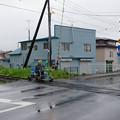 Photos: s4820_軌道自転車で線路点検中_厚岸~門静間